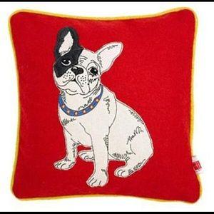 Ben De Lisi French Bulldog Pillow